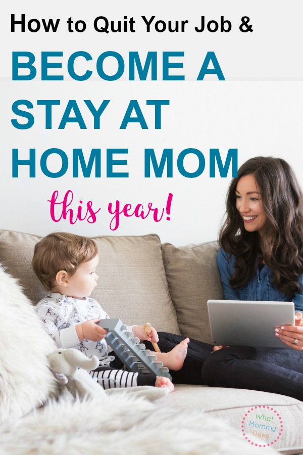 I set a goal to become a stay at home mom so I didn't have to go back to work after maternity leave….and we achieved this goal! Do you want to wuite your job, too? Here are some of the best tips for saving money & more so you can be with your kids.
