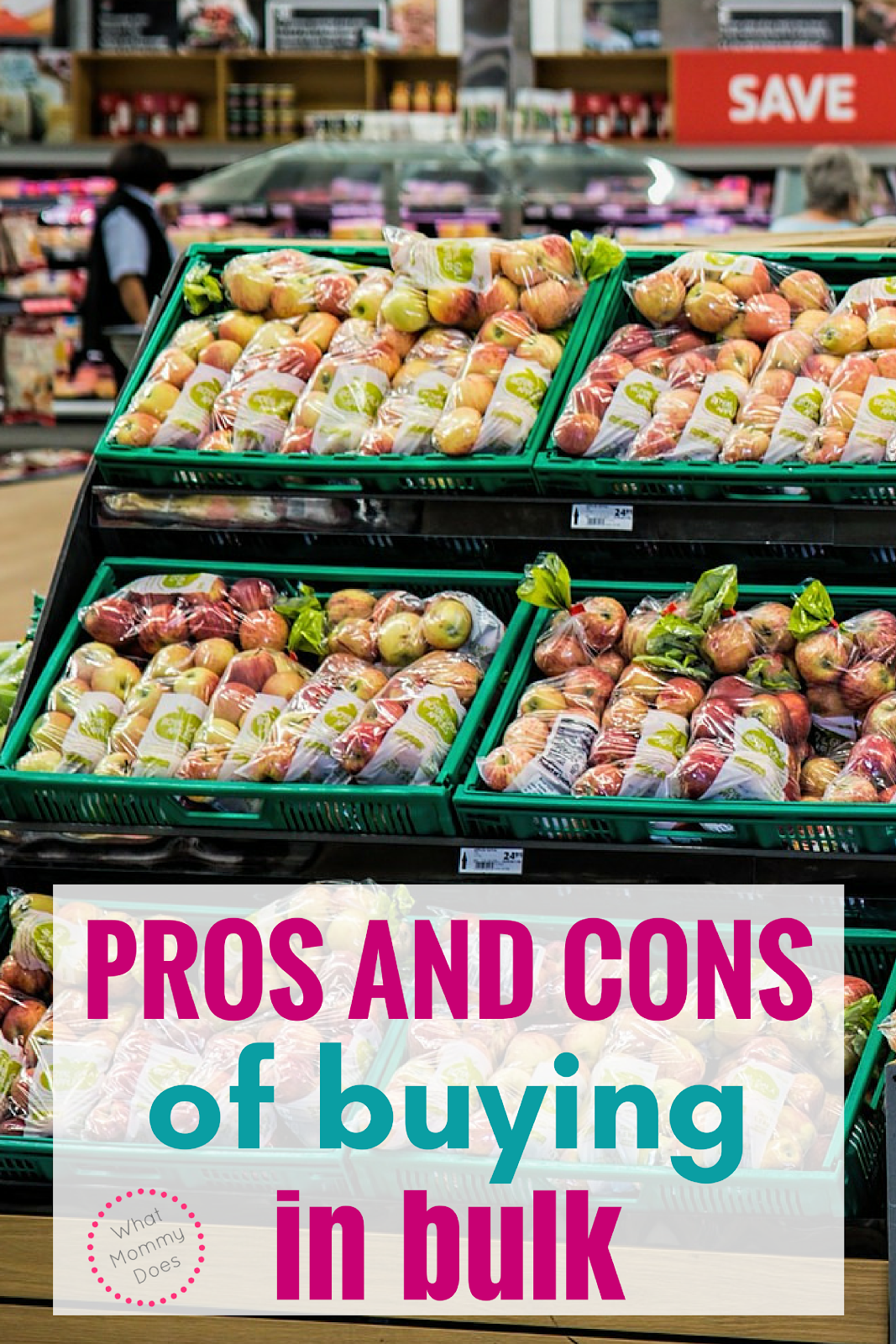 Are you really saving money when you are buying bulk food. Take a look at the pros and cons of buying in bulk. It's not as great as you think!