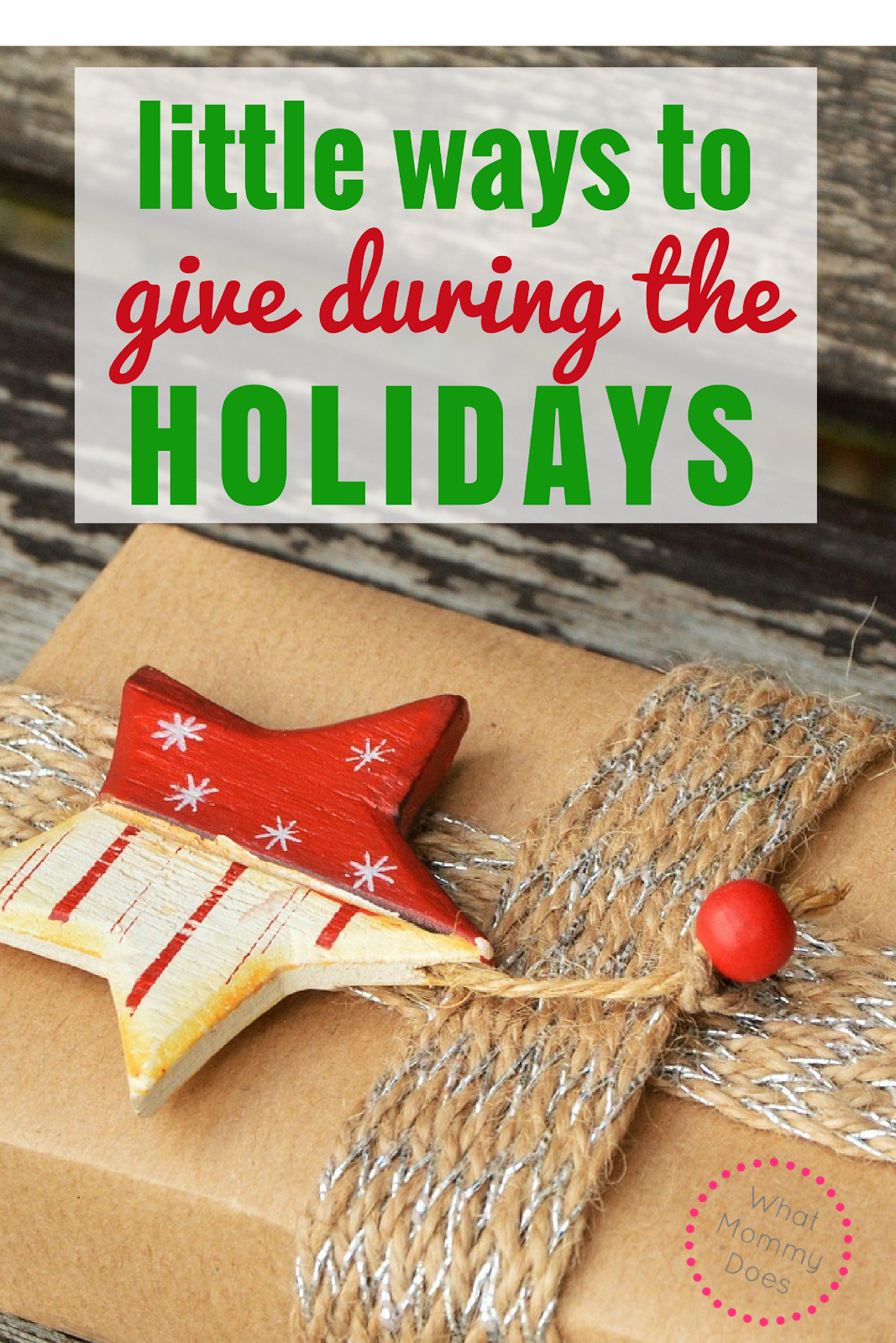 Little Ways to Give during the Holidays - These easy ways to give back at Christmas are perfect for families want to help their community. Donate to charity or do something just as rewarding - ideas are here!