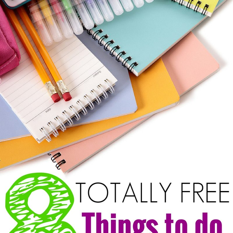8 Free Kids Activities - Do you need some fun summer activities that wont ruin your budget? Here are 8 free kids activities ideas! May you never run out of fun, creative, free things to do with your kids in the summertime! :)