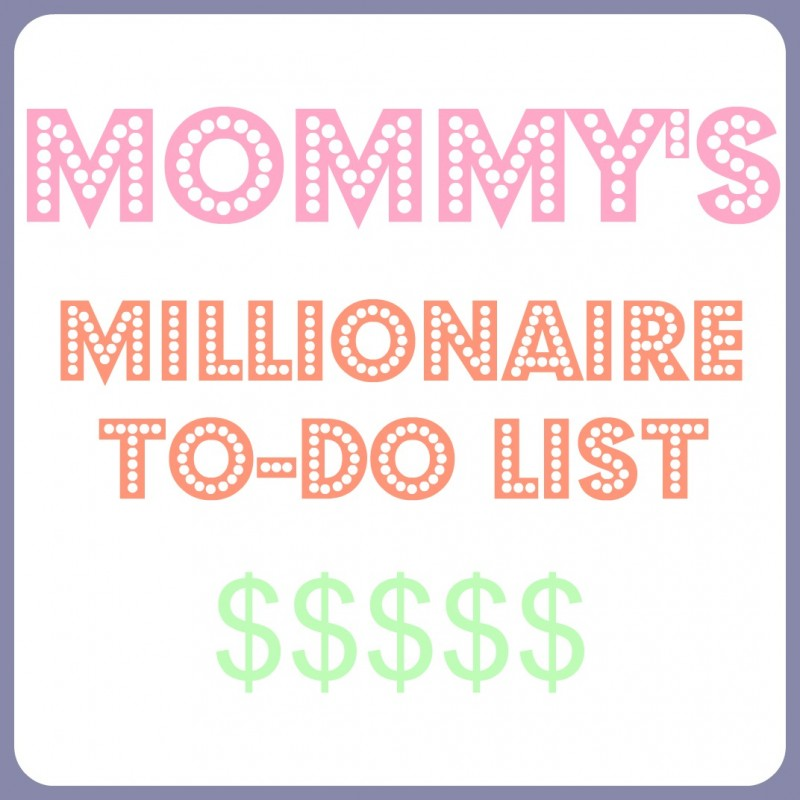The Million Dollar Club – My Million Dollar To-Do List