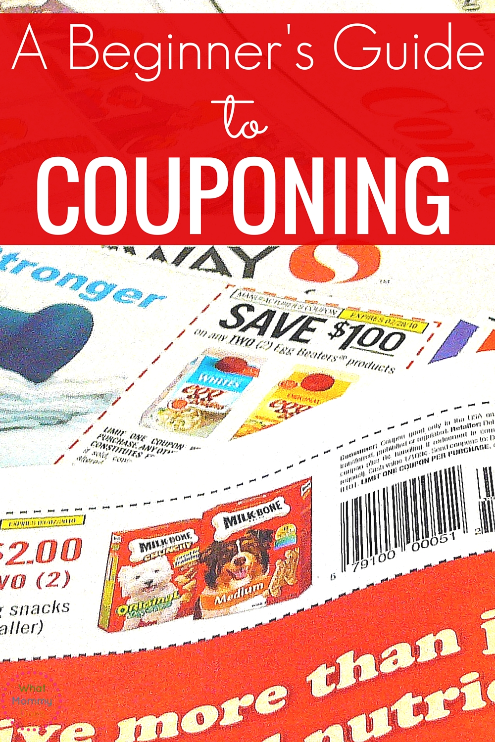 This couponing for beginners crash course is amazing! It's very helpful if you want to save money on groceries and other items!
