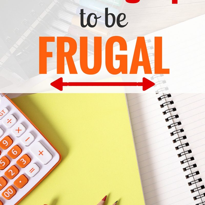 How to Be Frugal - These nine AMAZING tips to frugal living will help you save money and live happier.