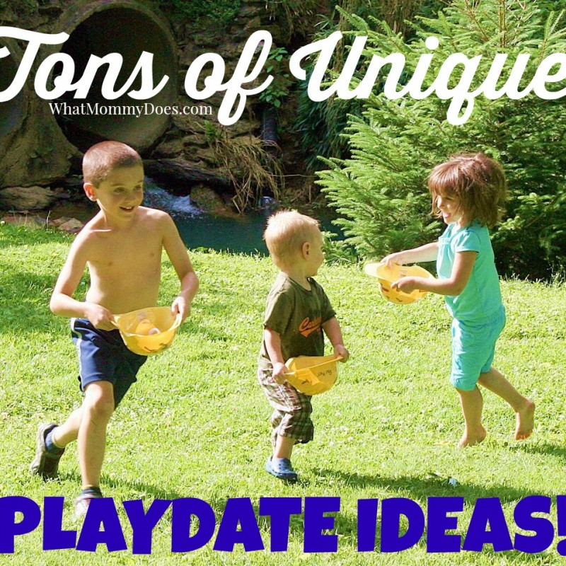 List of Playdate Ideas