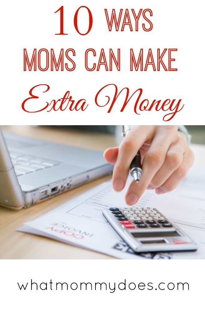 10 Ways to Make Extra Money on the Side