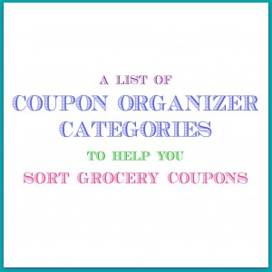 grocery coupon organizer tabs