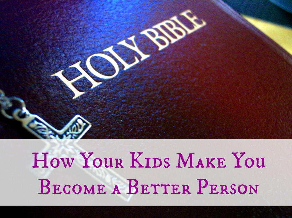 Bible Lessons I Owe to My Kids