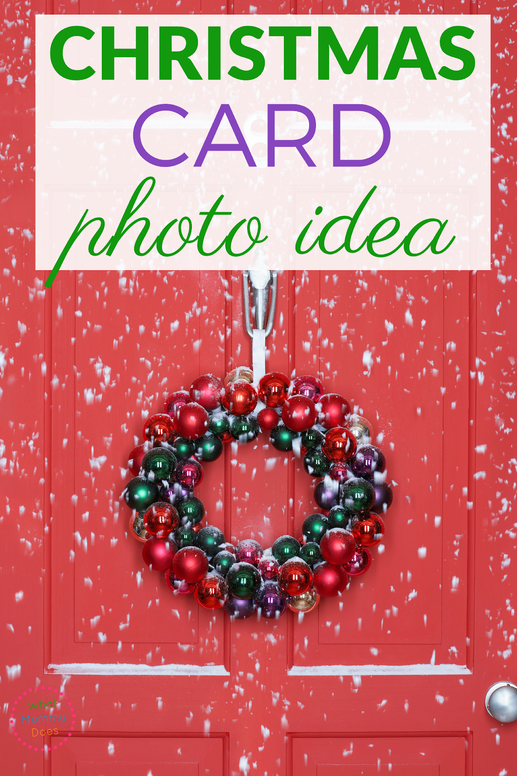 Check out these seven Christmas Card Photo ideas. Use these inspiration for your family cards this year!
