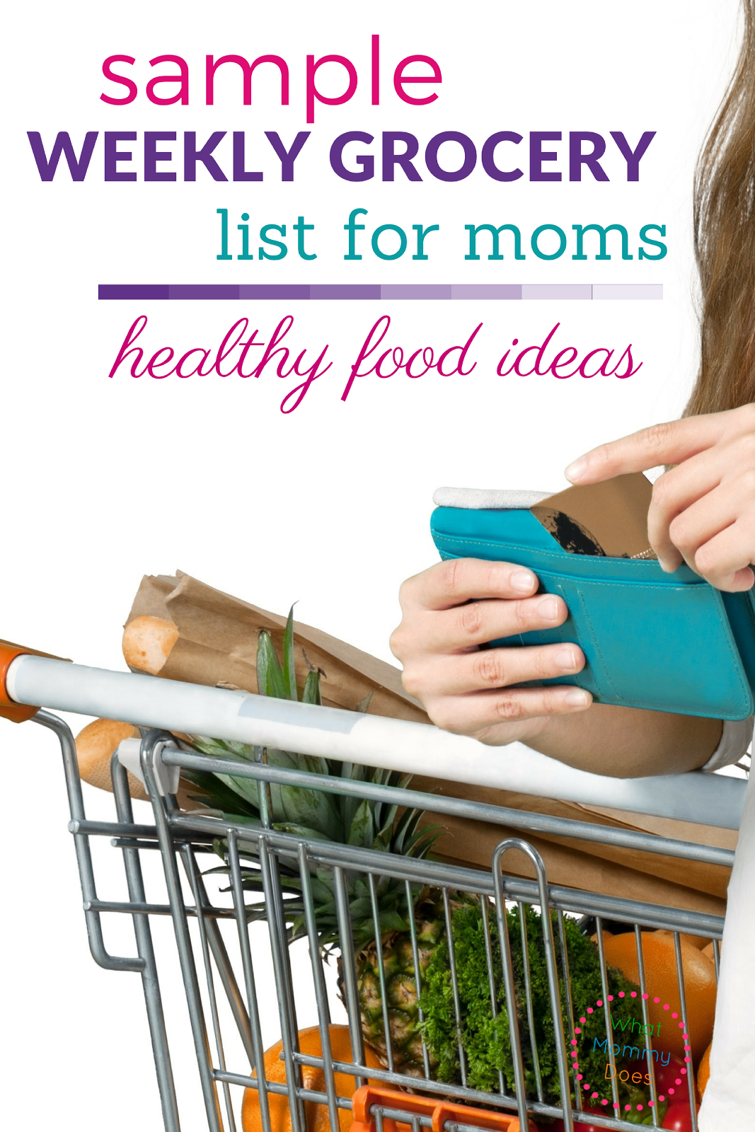 Wow, this sample grocery list for a healthy lifestyle is amazing! Check out the healthy food ideas to lose weight or simply eat better.