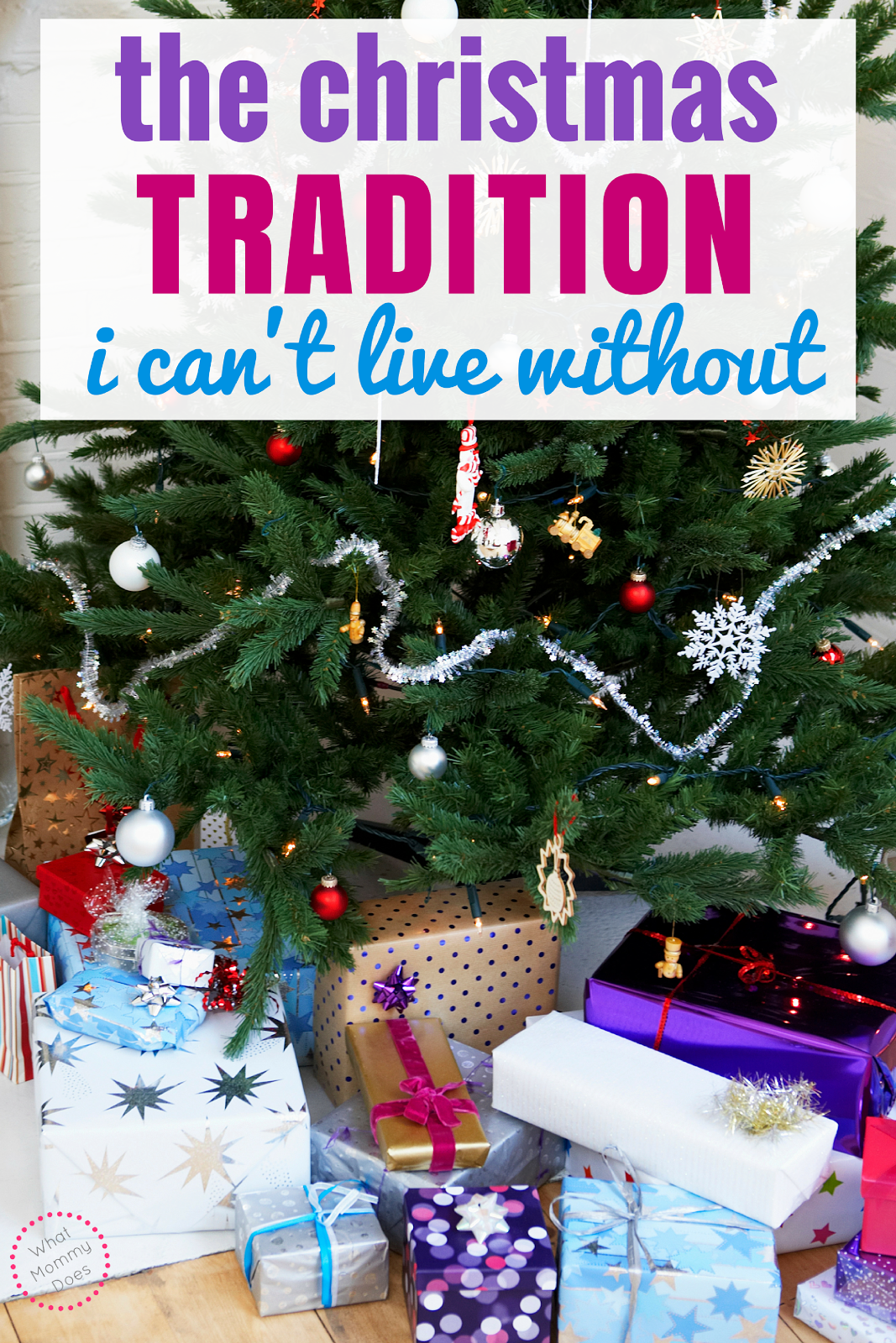 When I think of fun, old fashioned Christmas traditions, this family activitty comes to mind. I take my kids to do this every single year & I did it with my family as a child. I also going use a new idea to keep Christmas Christ centered this year. Here's an example any Christian family could do regardless of your children's ages.