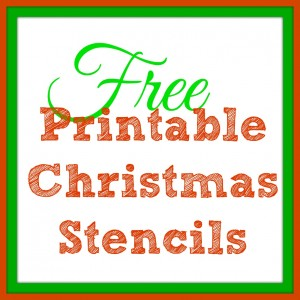 Free Printable Christmas Templates - Santa Claus, Mittens, Christmas Trees and More