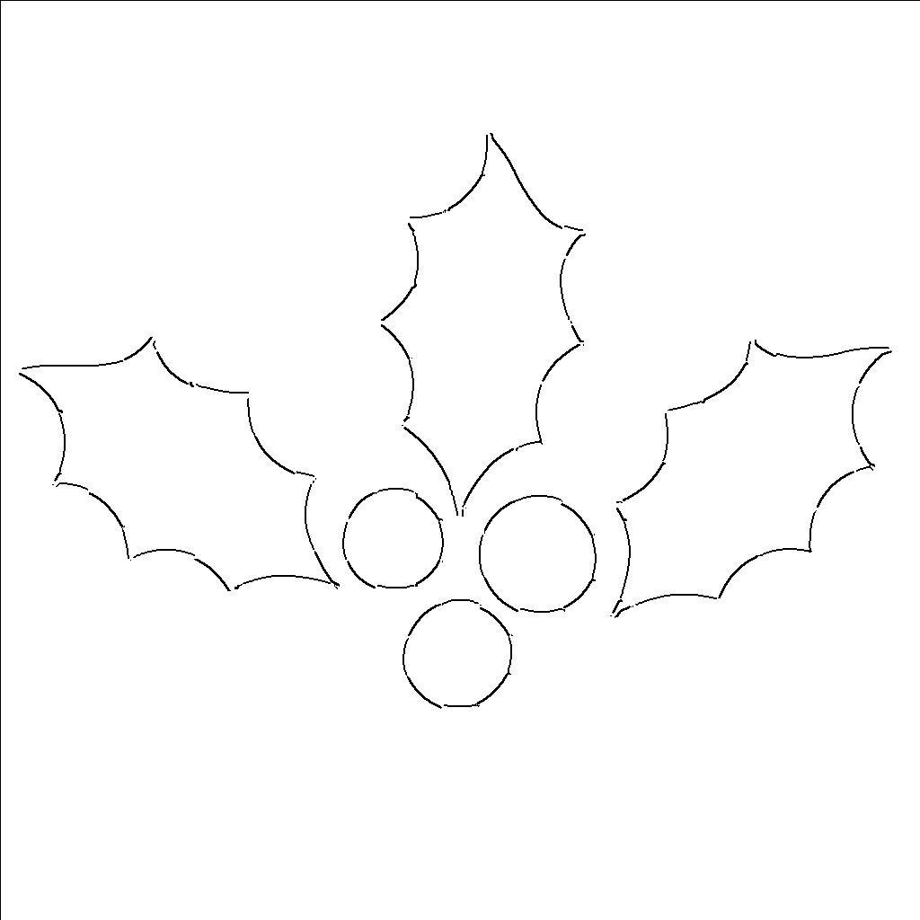 holly leaf template.jpg_outline