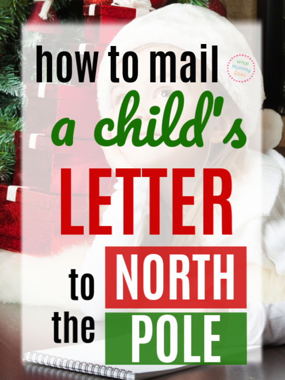 Do you need to know where to mail your kid's letter to Santa?