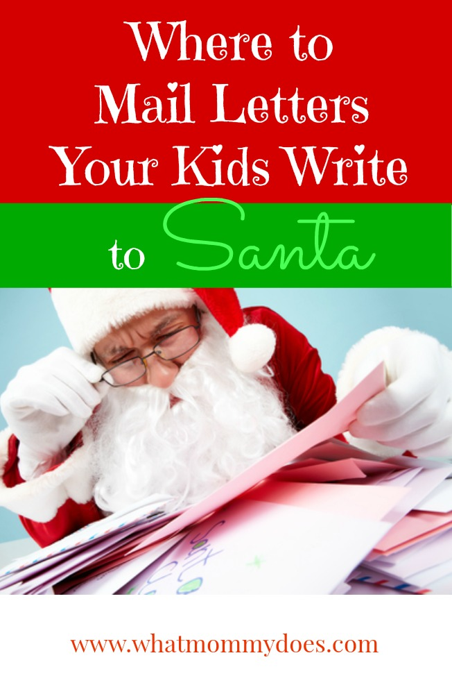 Here's where to send letters to Santa! - Love this idea! My kids wrote a letter to Santa last year, put them in the mailbox with this address, and received a letter back from the guy in red! It was so magical. Gonna do this every year as long as they believe!