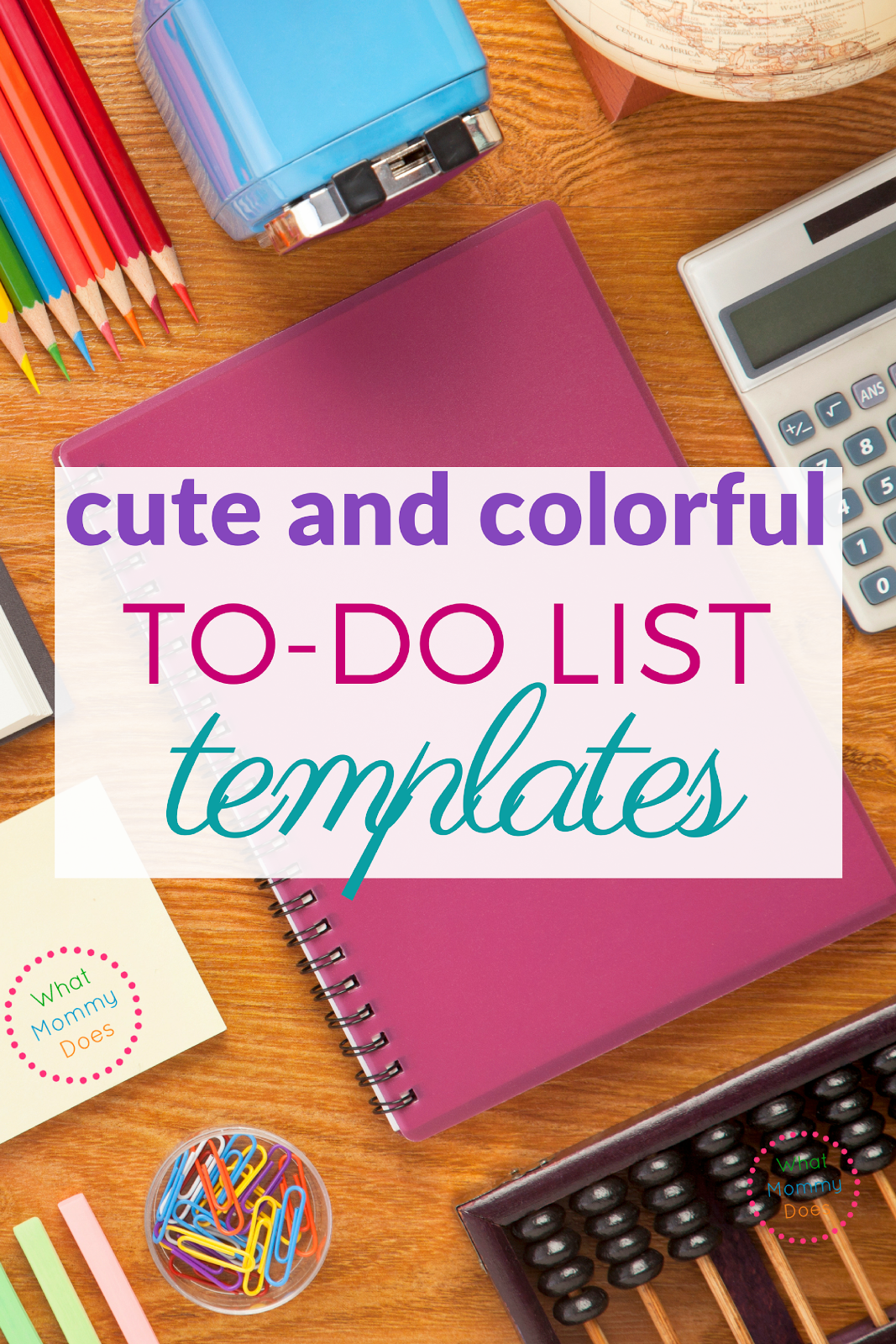 Free To Do List Templates So Cute And Colorful What