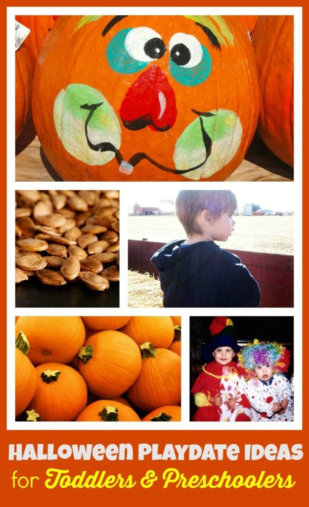 List of October Playdate Ideas for Halloween