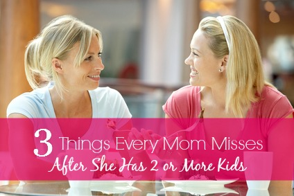 3 things every mom misses