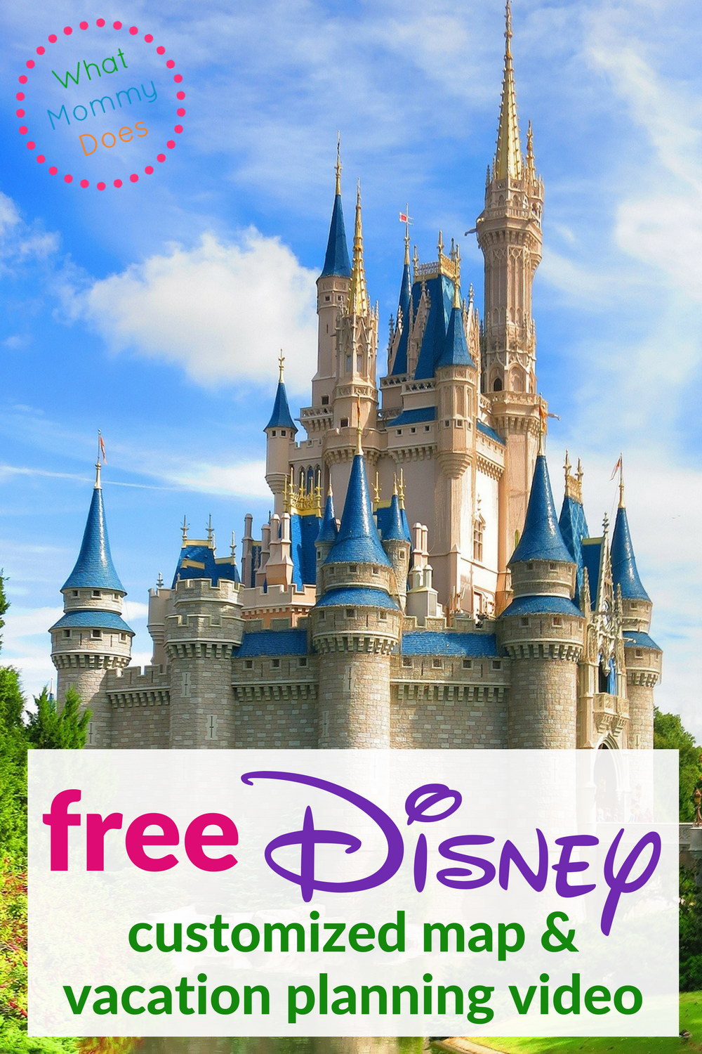 Free Disney Map & Planning Video - Plan your next Disney Trip with this customized map and vacation planning video. They are FREE!!