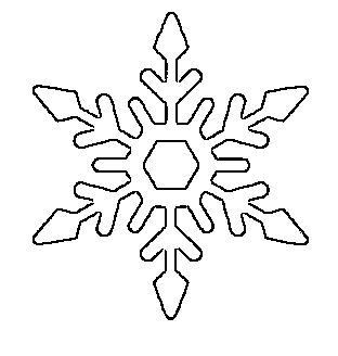 Free printable snowflake templates large small stencil patterns pretty snowflake pattern free printable maxwellsz
