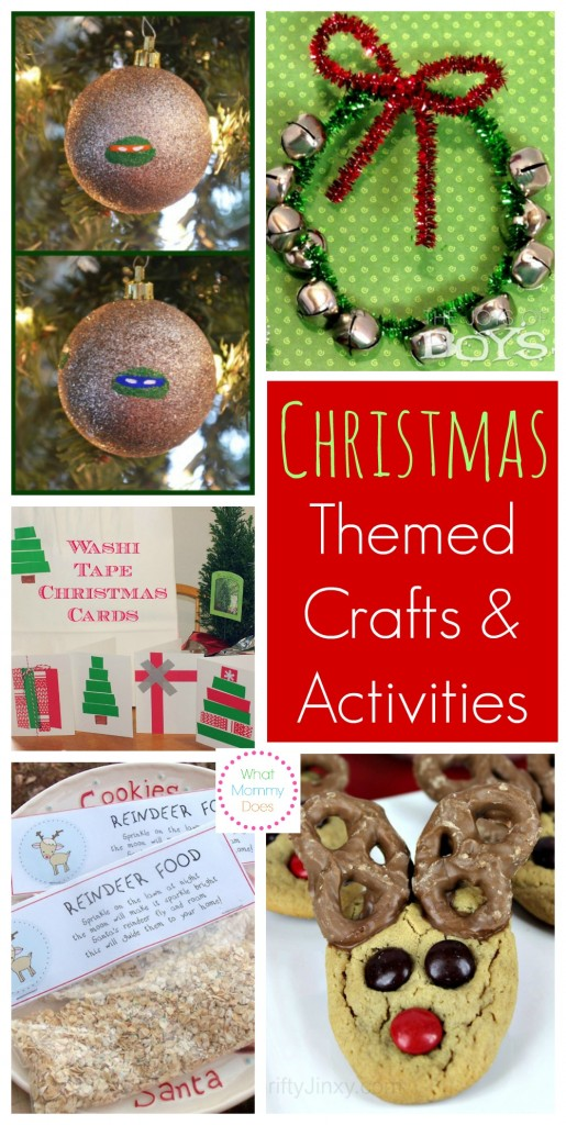 Christmas Themed Crafts & Activities