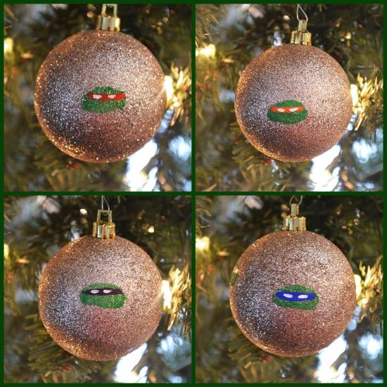 Joys of Boys TMNT Ornaments