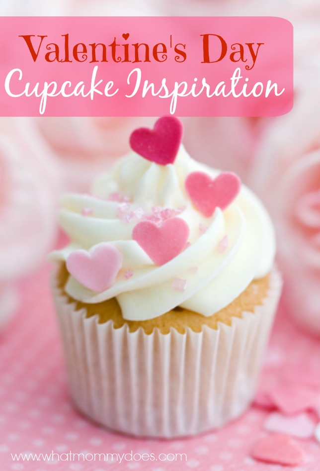 Valentine's Day Cupcake Inspiration & Ideas