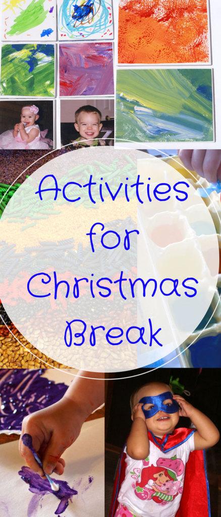 easy activity ideas for Christmas break