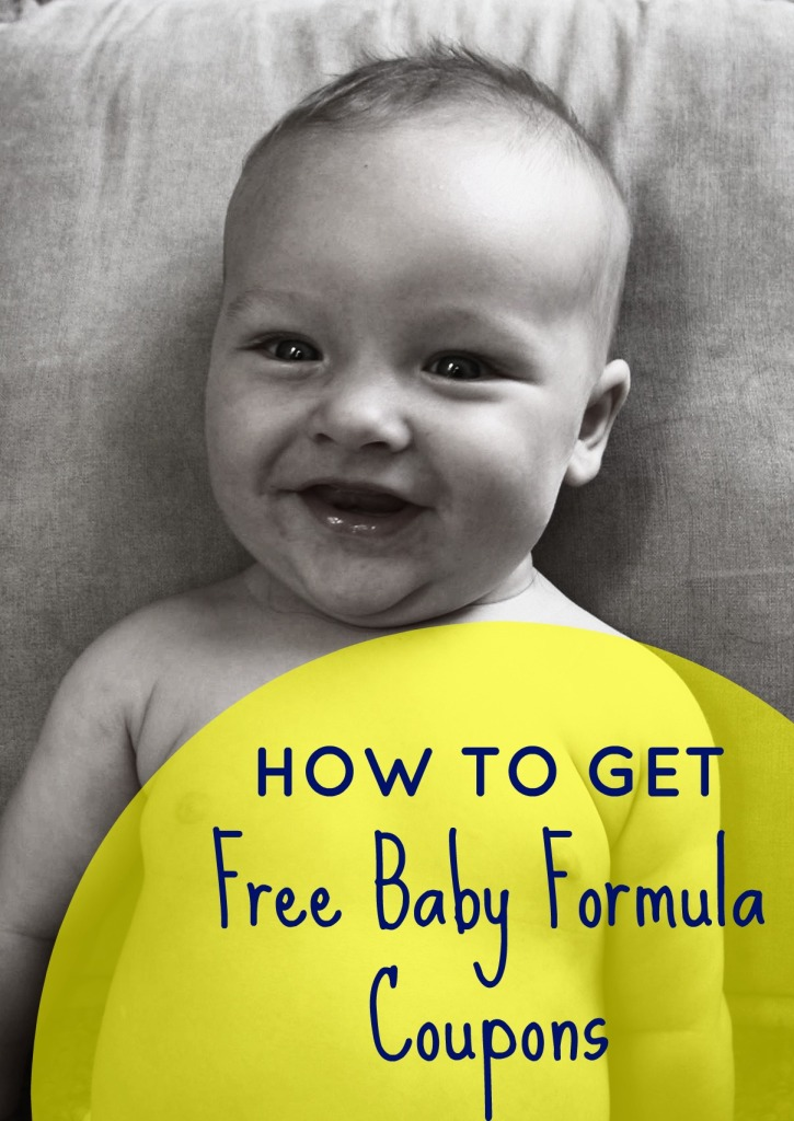 formula coupons - how to get Enfamil freebies in the mail