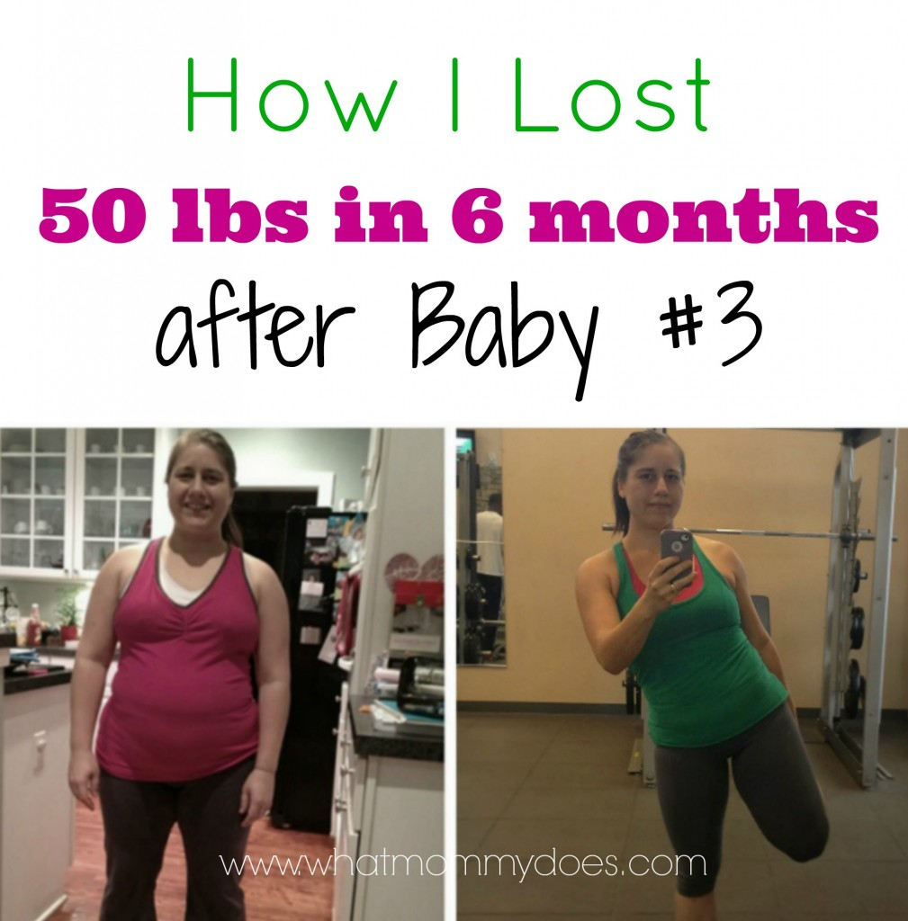 how i lost weight after having 3 babies