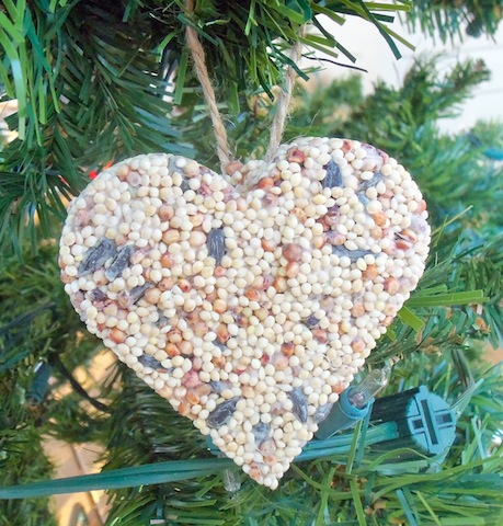 how to have it all birdseed ornaments