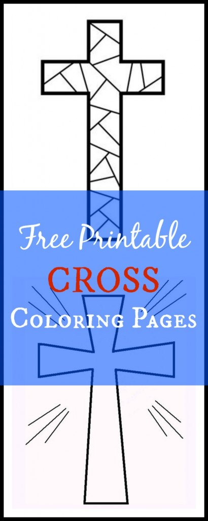 picture about Free Printable Cross referred to as Totally free Printable Cross Coloring Internet pages - What Mommy Does