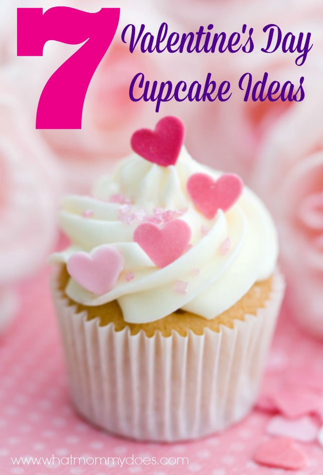 valentine's cupcake ideas - 7 lovely cupcakes for inspiration