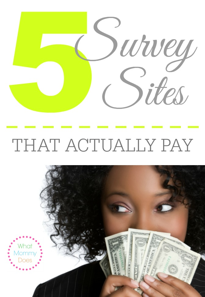 Survey Websites - 5 Legit Sites That Pay