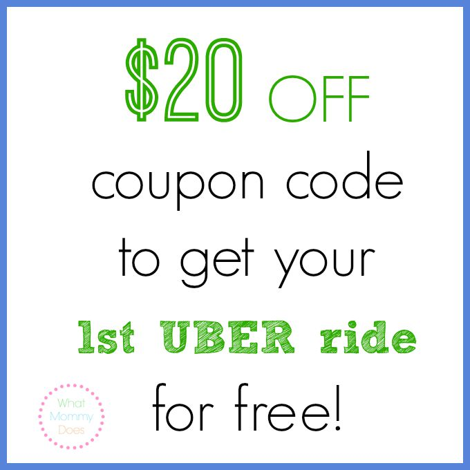 A Deal Just for My Readers: $20 Off Uber Ride