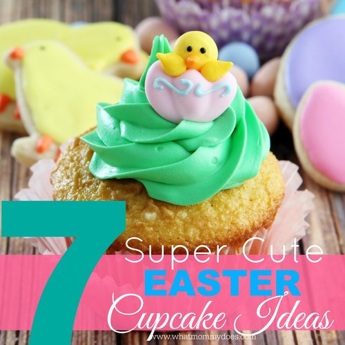 These are such adorable EASTER CUPCAKE IDEAS! The Easter bunny peeps are probably my favorite with the bunny butt ones my second fave (they are too cute!). Also there are sheep, flower, and carrot ideas. Perfect for school or church celebrations or maybe even a bake sale?