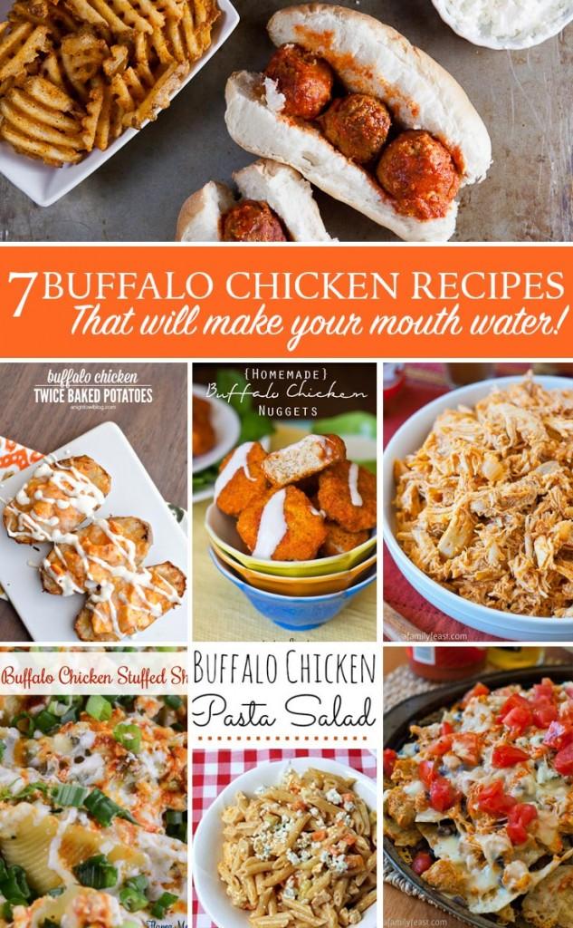Delicious Buffalo Chicken Recipe Ideas