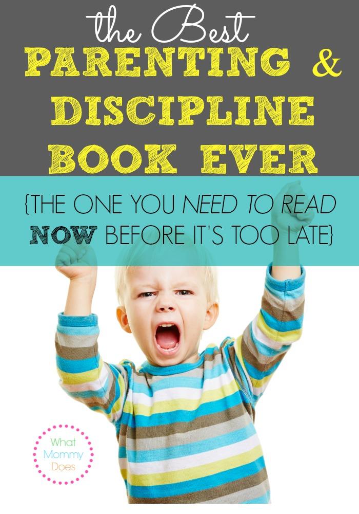 best parenting discipline book ever written