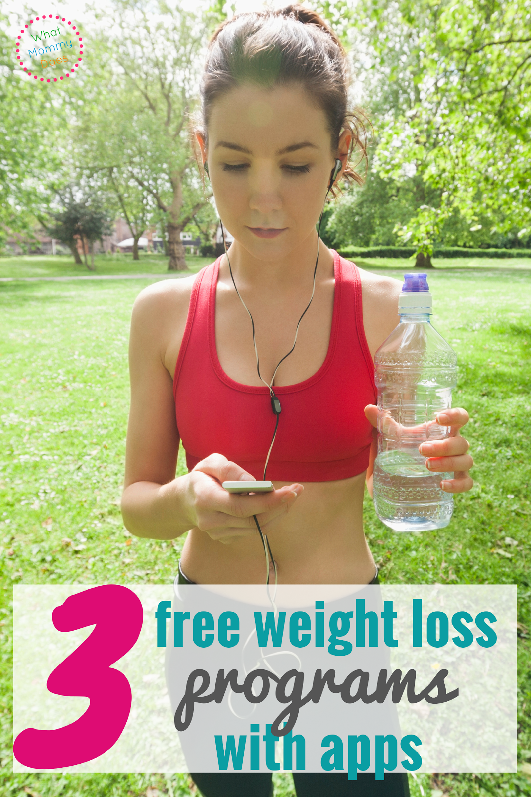 Check out these 3 free weight loss programs that have easy mobile apps for weight loss tracking. There are diet plans and food logs too!