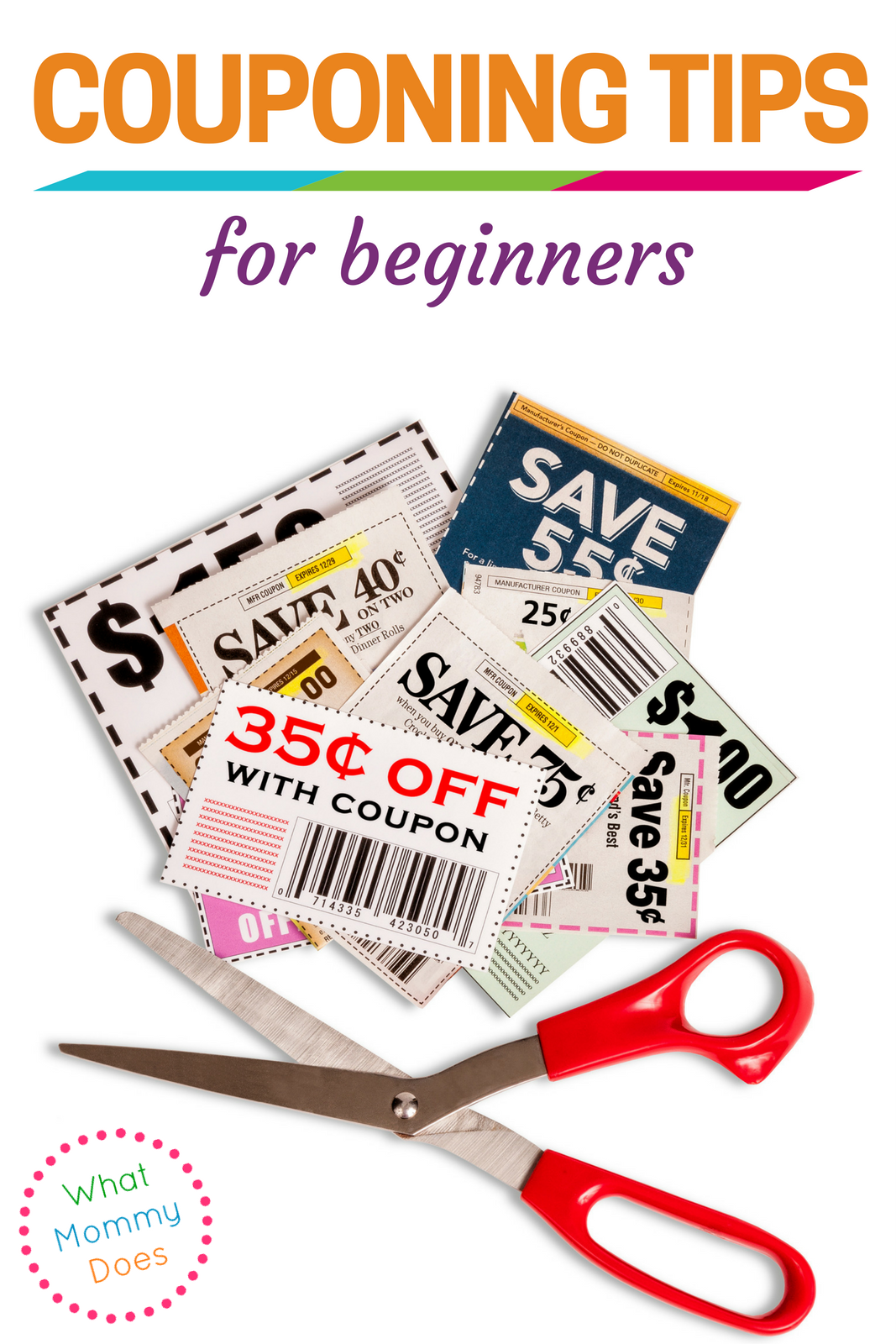 Couponing for Beginners - Save money with these awesome coupon tips for beginners! You may even be able to score free stuff!!