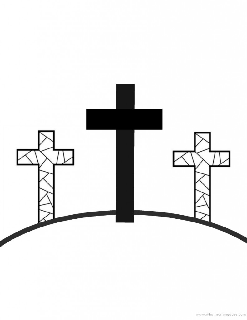 Easter Christian Coloring Pages