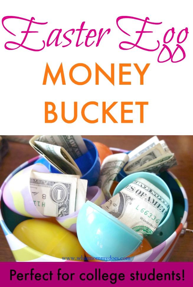 Easter Egg Money Bucket