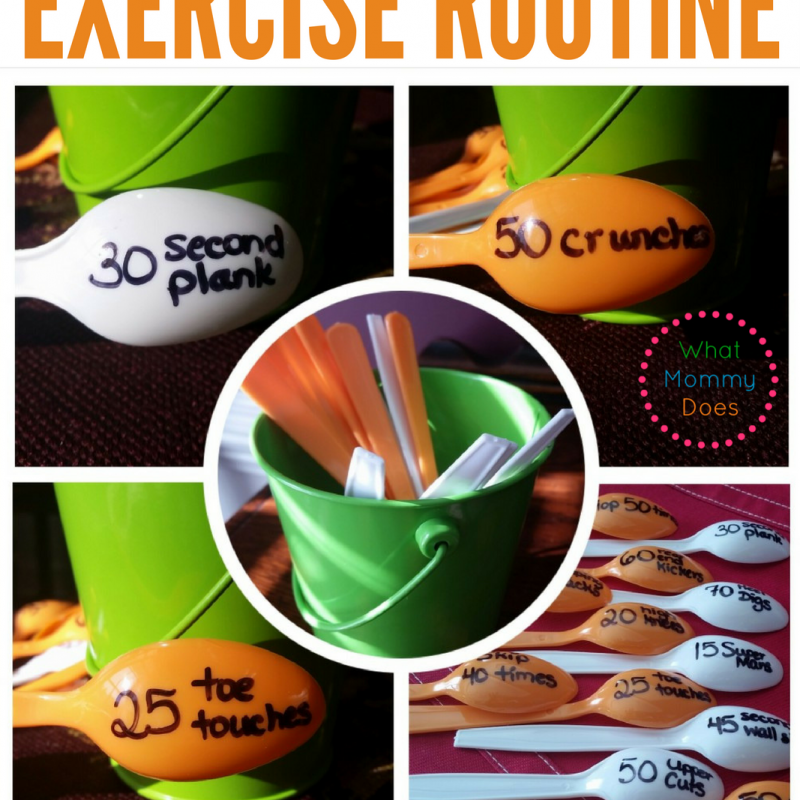 Exercise Routine to Do With Kids - Have fun and workout with your kids. You may lose weight too!