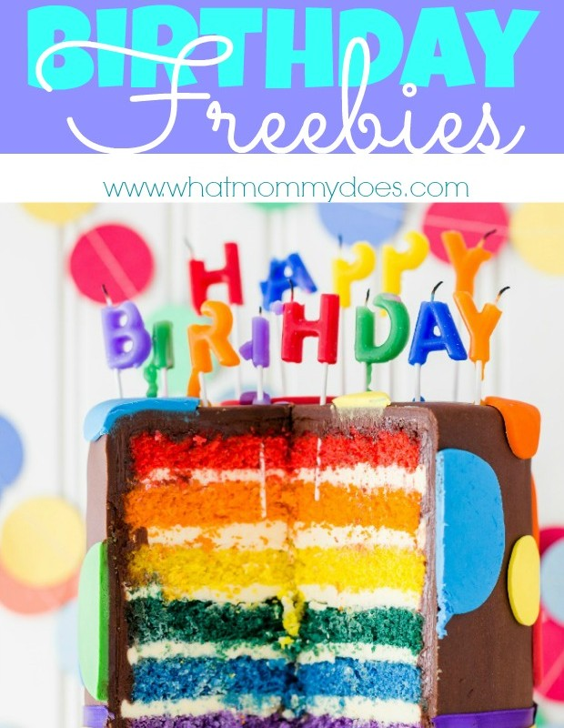 100 Birthday Freebies – Get Free Stuff on Your Birthday!