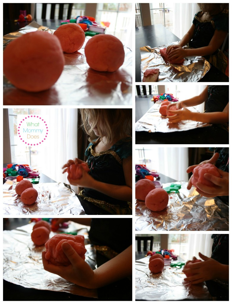 how to make edible playdough for kids indoor play
