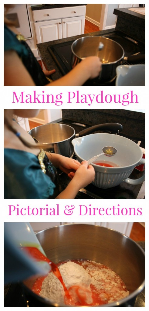 making playdough tutorial with pictures, a pictorial