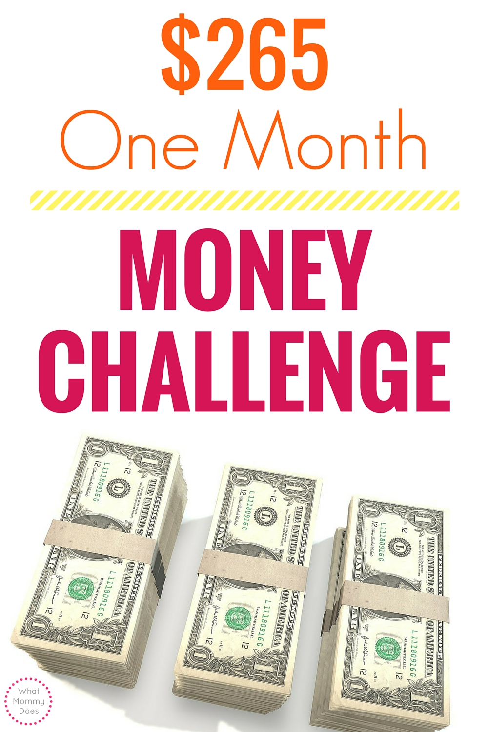 This monthly money challenge will boost your money saving goals!
