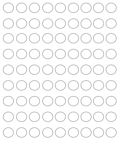 photo about Printable Circle identify Printable Circle Dots - Totally free Template