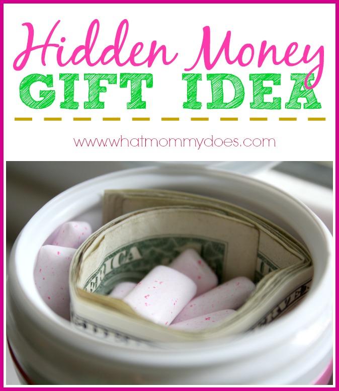 Hidden Money Gift Idea - Creative Way to Give Cash to Kids, Teens, Graduates!