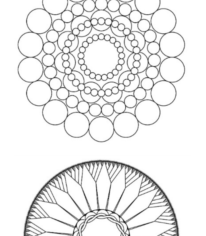 I can't get enough of the grown up coloring pages craze. I found a neat tool online that allows you to make your own unique coloring pages. You can download the free coloring pages as PDFs and print them out at home!