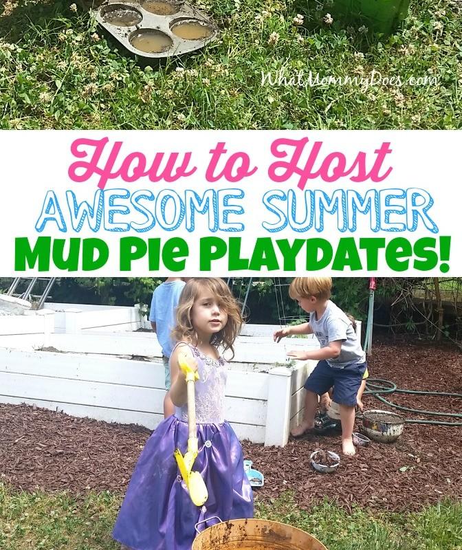 Simple Summer Fun ~ Mud Pie Playdate